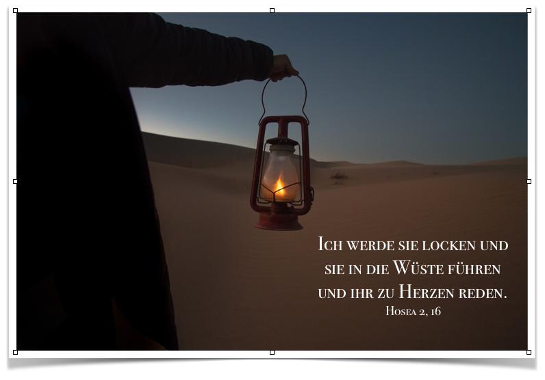 Advent Ab In Die Wüste Glaubensschritte